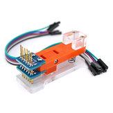 Programcı Modül Testi Parçalar PCB Test Fikstürü 1x6P Altın kaplama Probe Pro Mini OPEN-SMART için Arduino için Yükleme Kodu - resmi Arduino panoları ile çalışan ürünler