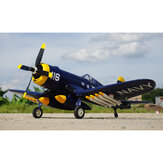 KIT / PNP d'avion de Hookll F4U Warbird 1200mm d'envergure EPO avec l'avion de train d'atterrissage rétractable