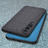 Bakeey Luxury Cotton Cloth Shockproof Protective Case for Xiaomi Mi Note 10 / Xiaomi Mi Note 10 Pro / Xiaomi Mi CC9 Pro