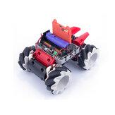 Kittenbot Microbit DIY 4WD Programmable APP / Contrôleur Intelligent Voiture Robot RC Robot Avec Omni Roues
