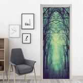 Miico MT001 Halloween Stciker Porte Autocollants Amovible Wall Sticker Décoration De La Chambre