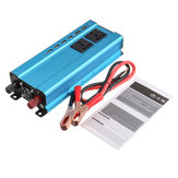5000W 4 USB 3 Socket Car Converter Power Inverter DC 12V 24V à AC 220V Inverseur