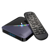 A95X F3 Amlogic S905X3 4GB RAM 64GB ROM 5G WIFI bluetooth 4.0 Android 9.0 4K 8K TV Box with 64 RGB Light