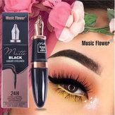 Caneta delineador à prova d'água flor música forma Maquiagem cosméticos e