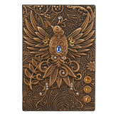 Phoenix Retro Relief European Retro Notebook School Office Notepad Paper Stationery Supplies
