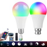 AC85-265V Dimmable E27 E26 B22 RGB+CW WIFI Smart LED Bulb APP Control Color Changeable Home Lighting