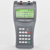 TDS-100H DN50-700mm M2 Transducer Portable Digital Ultrasonic Liquid Flowmeter Handheld Flow Meter
