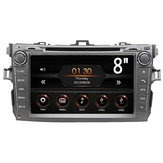8 Pollici 2Din WINCE 6.0 Car MP5 Player Touch Screen Stereo FM Radio GPS DVD bluetooth per Toyota Corolla 2009-2010