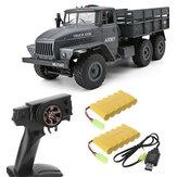 MZ YY2004 تمت ترقيته رواية 1/12 2.4G 6WD RC سيارة عسكرية شاحنة الطرق الوعرة RTR نموذج