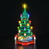 Kit d'éclairage LED uniquement pour briques d'éclairage de sapin de Noël LEGO 40338