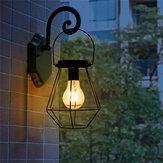 Güneş Enerjili Vintage LED Fener Asılı Işık Outdoor Bahçe Yard Lamba Dekor