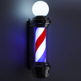 "Barbearia 22 ""rotativa LED Stripes Pole Light Cabelo Salon"