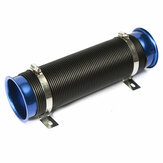 3'' 75mm Modified Cold Air Intake Hose Turbo Dust Turbine Flexible Car Tube Pipe Kit