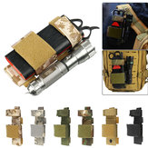 Outdoor Nylon Tactical Bag Flashlight Clip First Aid Tourniquet Buckle Strap Combat Application For Emergency Injury