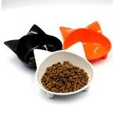 Material de melamina Gato Tipo Recipiente para mascotas antideslizante Lindo 10 colores Suministros para mascotas Gato y Perro Universal