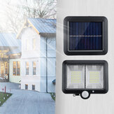 Solar Power COB 98/108/120LED Wall Light PIR Motion Sensor Outdoor Garden Lamp