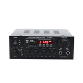 KS-33BT 2x450W Bluetooth Stereo LED Digitale audioversterker HiFi USB-geheugenkaart Aux FM-radio Home