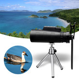 MOGE 50X HD Monocular Night Vision Telescope + Clip + Tripod For Mobile Phone