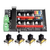 BIGTREETECH® 4Pcs TMC2130 DIY Mode Stepper Motor Driver + Upgraded Ramps 1.6 Plus Control Board Base on Ramps 1.6/1.5/1.4 for 3D Printer Part