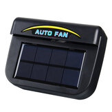 Solar Power Portable Mini Air Conditioner Car Auto Air Vent Cool Fan Conditioner