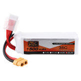 ZOP Power 22.2V 1500mAh 35C 6S Lipo Battery XT60 Plug for FPV RC Drone