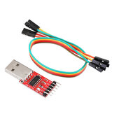 CTS DTR USB Adapter Pro Mini Download cable USB to RS232 TTL Serial Ports CH340 Replace FT232 CP2102 PL2303 UART TB196