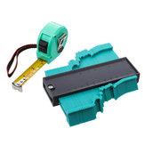 0-130mm Radio Ruler Contour Shaper with Tape Measure Taper Ruler