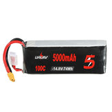 URUAV 14.8V 5000mAh 100C 4S Lipo Battery XT60 Plug for RC Racing Drone
