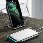 बेसस 15W वायरलेस चार्जर ऊर्ध्वाधर क्षैतिज तेजी से वायरलेस चार्जिंग पैड फोन धारक क्यूई-सक्षम स्मार