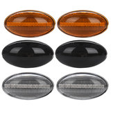 Dynamic LED Side Marker Lights Amber اللون for مصغرة Cooper R50 R52 R53