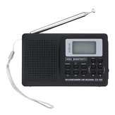 Portable Digital Full Band AM FM SW MW LW Wekkerradio-ontvanger