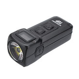 NITECORE TUP XP-L HD V6 1000LM ricaricabile LED Portachiavi Light OLED Display Torcia tascabile EDC intelligente