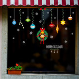 Miico XL629 Christmas Sticker Home Decoration Sticker Window and Wall Sticker Shop Decorative Stickers