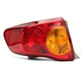 Cauda traseira do carro luz lâmpadas de freio luz de sinal de volta esquerda 8155002460 para toyota corolla 2008-2010