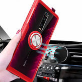 Bakeey Transparent Ring Holder Magnetic Car PC & Carbon Fiber Protective Case For Xiaomi Mi9T/ Mi 9T PRO / Redmi K20 / Redmi K20 PRO