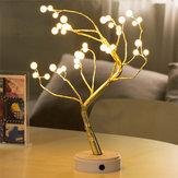 USB 36LED Pearl Tree Light Touch Control-lamp Nachtlampje Kerstlicht