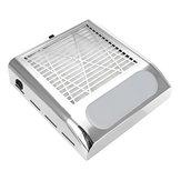 80W Unhas Vácuo de coletor de pó Unhas Máquina de pó de sucção mais limpa Tela de filtro de manicure