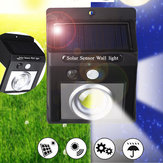 37 COB LED Solar Light PIR Motion Sensor Security Outdoor Gardern Wall Lamp