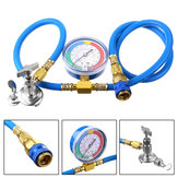 1M Car Van Air Conditioning Universal Charging Hose Pressure Gauge AC R134A