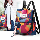 Women Back To School Anti-Theft Nylon Backpack Girls Bag Backpack Travel Bags