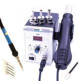 858D 700W Air chaud BGA Station de soudure de reprise Fer à souder électrique 220V / 110V pour SMD SMT Réparation de soudage