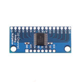 ADC CMOS CD74HC4067 16CH Channel Analog Digital Multiplexer Module Board Geekcreit for Arduino - products that work with official Arduino boards