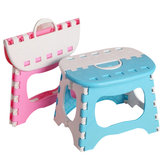 Folding Stool Portable Plastic Foldable Small Chair Store Household Outdoor Folding Chair