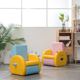Children's Sofa Seat Cute Single Lazy Sofa Mini Animal Cartoon Storage Chair for Children Baby