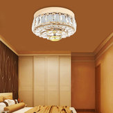 Modern Gold Round Crystal Ceiling Chandelier Light Pendant Fixture Home Decor