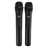 UHF USB 3.5mm 6.35mm Wireless Microphone Megaphone  Mic with Receiver for Karaoke Speech Loudspeaker