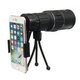 16X Magnification 16x52 Telescope Telephoto Lens with Tripod for Mobile Phone Smartphone Photography
