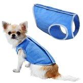 الصيف التبريد سترة معطف سترة قميص الملابس الملابس ل كلب القط جرو الحيوانات الأليفة سترة
