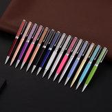ZKE4723 1 sztuka Metalowy długopis 1,0 mm Diamentowy długopis z kryształowymi gładkimi długopisami do przyborów szkolnych