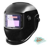 Νέα Solar Powered Auto Darkening Welding Helmet μάσκα οξυγονοκολλητή μάσκα μαύρης συγκόλλησης